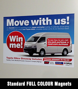 Car Magnets for Sydney - Australia-wide delivery
