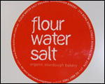 Magnetic Vehicle Signs Flour Water Salt