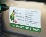 Car Magnets for Garden Gnome