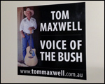 Tom Maxwell Car Magnets