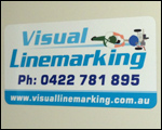 Visual Line Marking Car Magnets