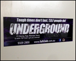Underground Fitness Vehicle Magnets